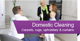 Cleaning for rugs, carpets & upholstery